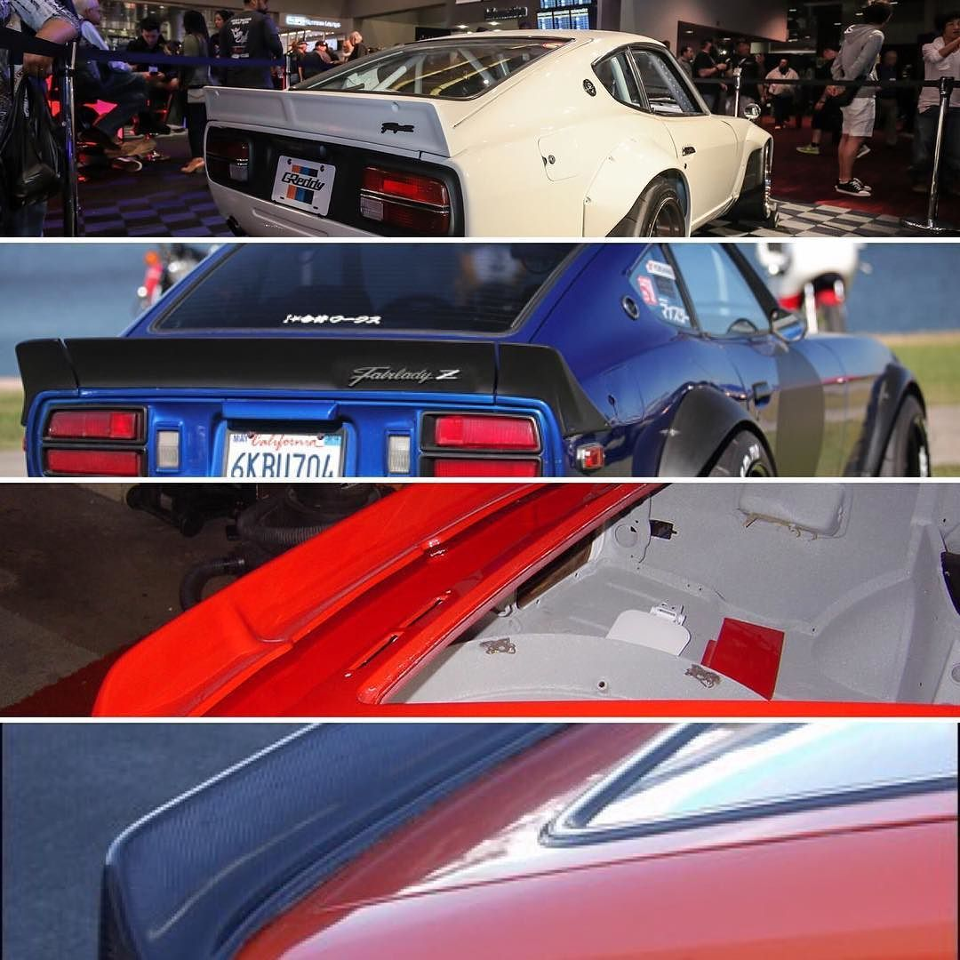Datsun Garage On Instagram Which Spoiler Do You Prefer Rocketbunny 3piece 432fairlady Or The Classic Bre Spoiler Tag A Datsun Datsun 240z Classic