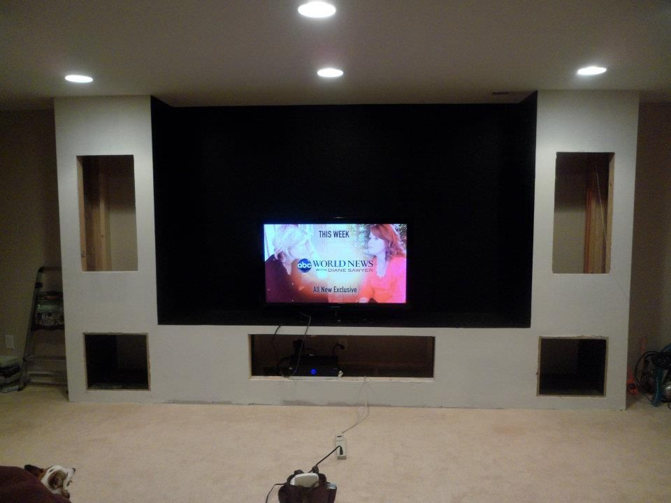 movie theater diy basement home theater home theater design rh pinterest com Basement Home Theater Ideas Basement Home Theater Ideas