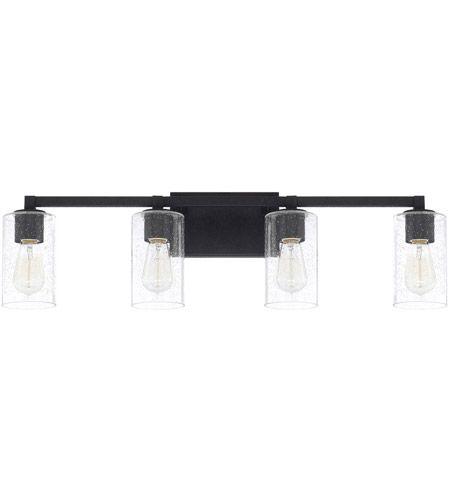 Photo of Capital Lighting 119841BI-435 Ravenwood 4 Light 33 inch Black Iron Vanity Wall Light
