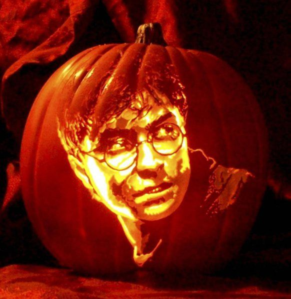 22 Harry Potter Pumpkin Carving Ideas Your Porch Would Love This Halloween Harry Potter Pumpkin Harry Potter Pumpkin Carving Creative Pumpkin Carving