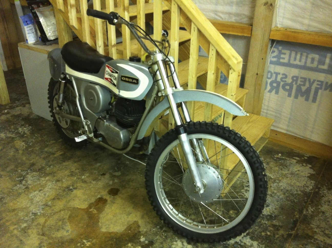 Other Makes Stilleto Vintage OSSA 175 CC motorcycle