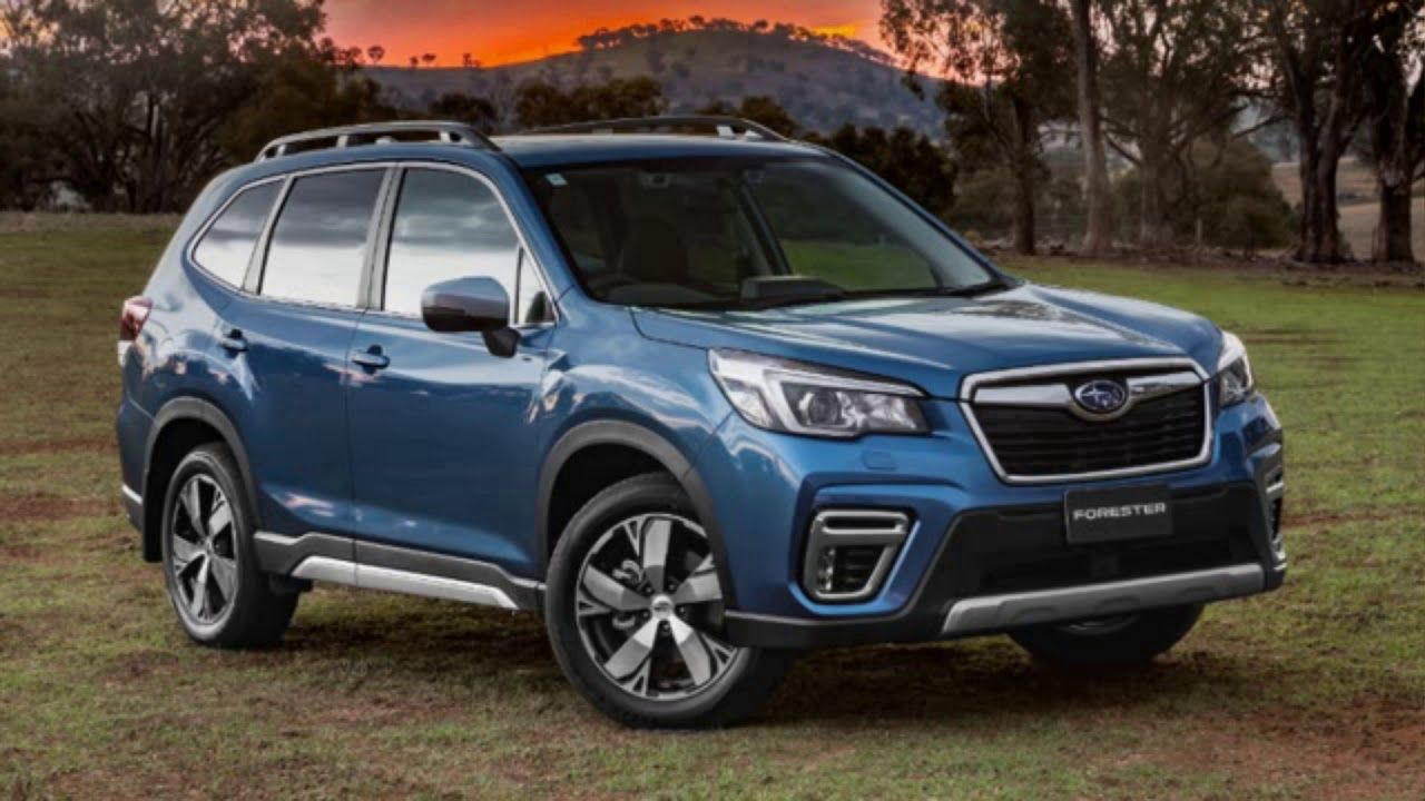 2020 Subaru Forester very capable offroad vehicle, modern