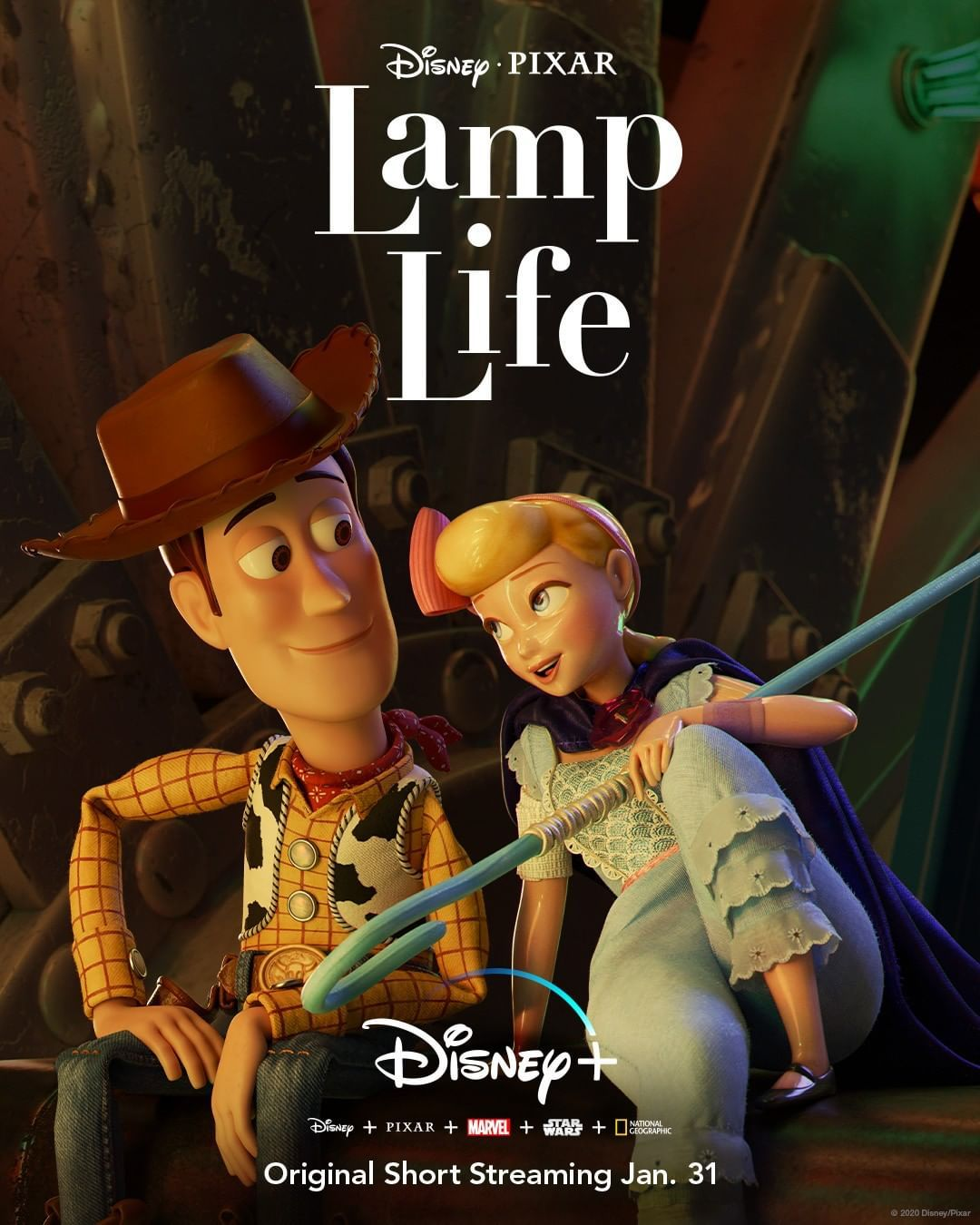 Disney On Instagram Bo Peep Has Her Own Toy Story To Tell Start Streaming Lamp Life An Original Short January In 2020 Bo Peep Toy Story Pixar Shorts New Toy Story