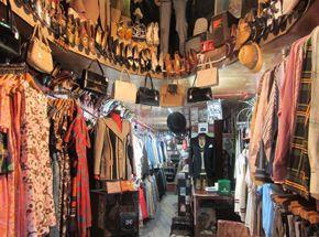 Vintage Menswear Camden A Dandy In Aspic Vintage Clothing Display Camden Vintage Store
