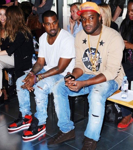 318 Likes 14 Comments Desire Desiredotink On Instagram Tbt Real Friends Kanyewest X Virgilab Sports Mix Fashion Women Blouses Fashion Dapper Style