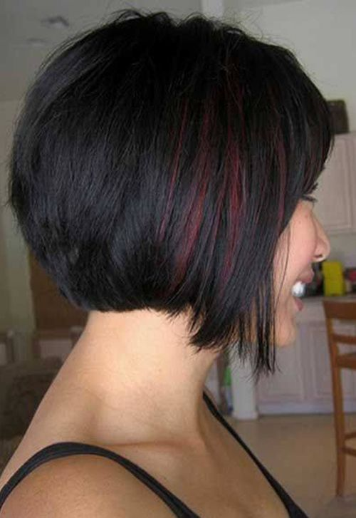 black hair bob styles 2013 inverted bob hairstyles 2013 back view 2013 2014 5061 | 7194ed06b7dbe15f3f4902525618703a
