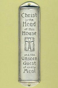 Mezuzah Quot Christ Head Of House Quot Celebrate Your Faith