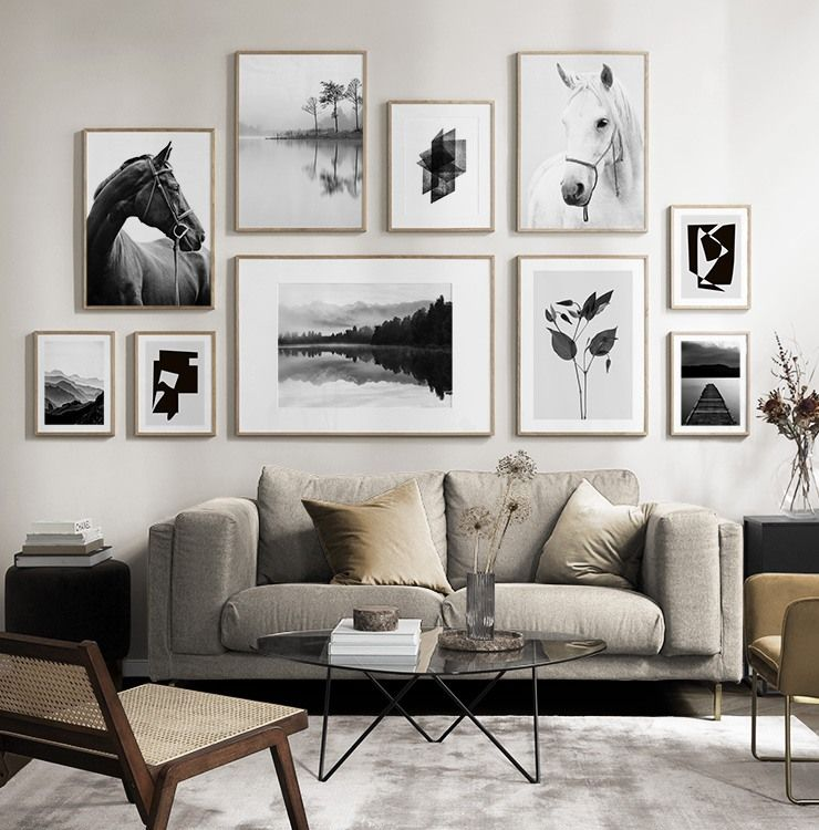 Page 4 Gallery Wall For The Living Room Inspiration For The Living Room Desenio Picture Wall Living Room Gallery Wall Living Room Living Room Pictures
