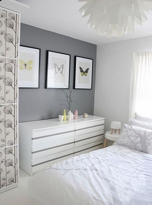 Great Beautiful Grey Upholstered Bed Decor Color Schemes_8