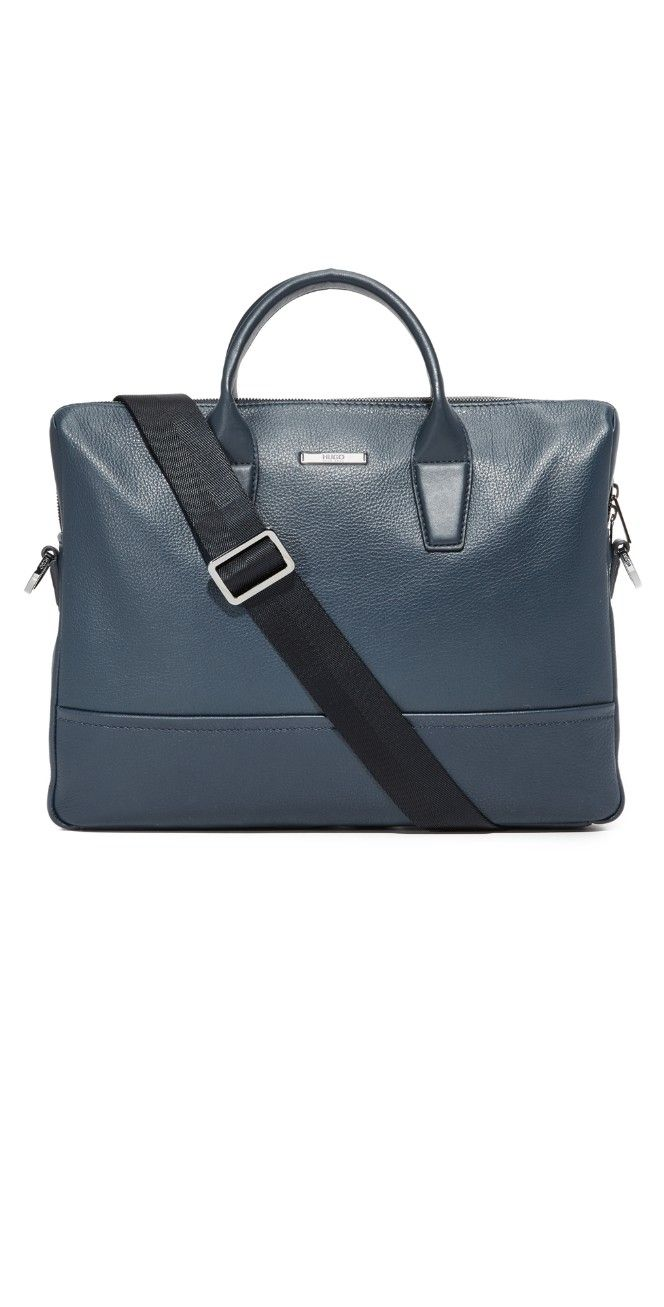 Hugo Boss Leather Briefcase  e35c709f8216e