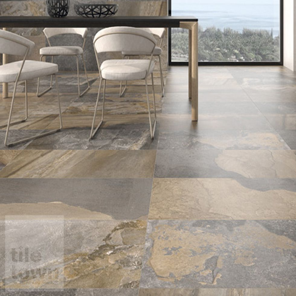Canada Mix Porcelain Floor Tiles Supplied By Tile Town Discounted
