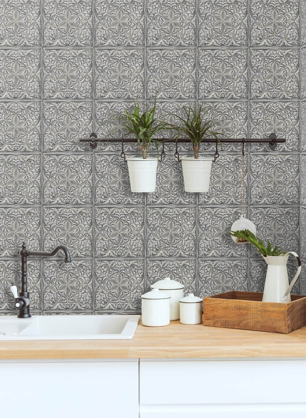 Peel And Stick Self Adhesive Wallpaper Wallpaper Peel Etsy Peel And Stick Wallpaper Stick On Tiles Peel And Stick Tile