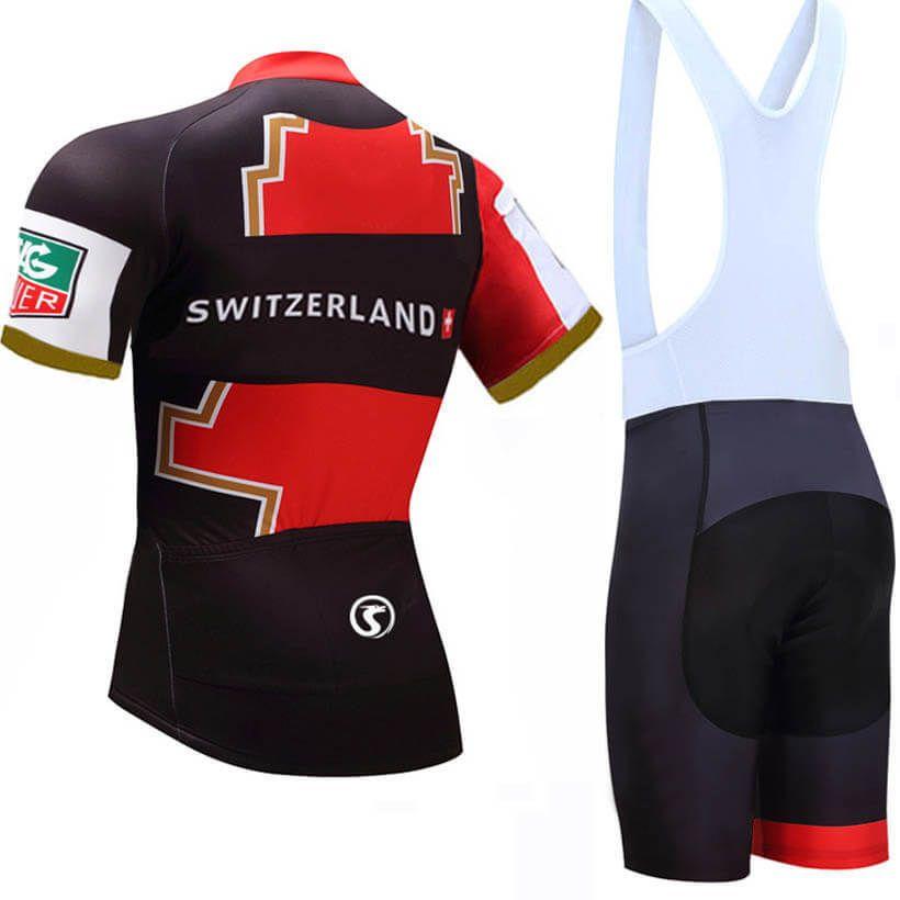 Switzerland TEAM Short Sleeve Cycling Jersey  2ae331144