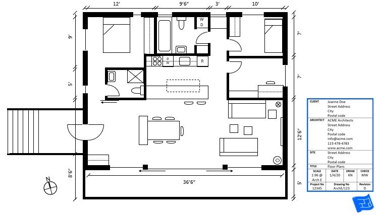 What Can You Expect To Find In House Plan Title Block Information Title Blocks Are Usually Located In The Bott Title Block Mansion Floor Plan Free Floor Plans