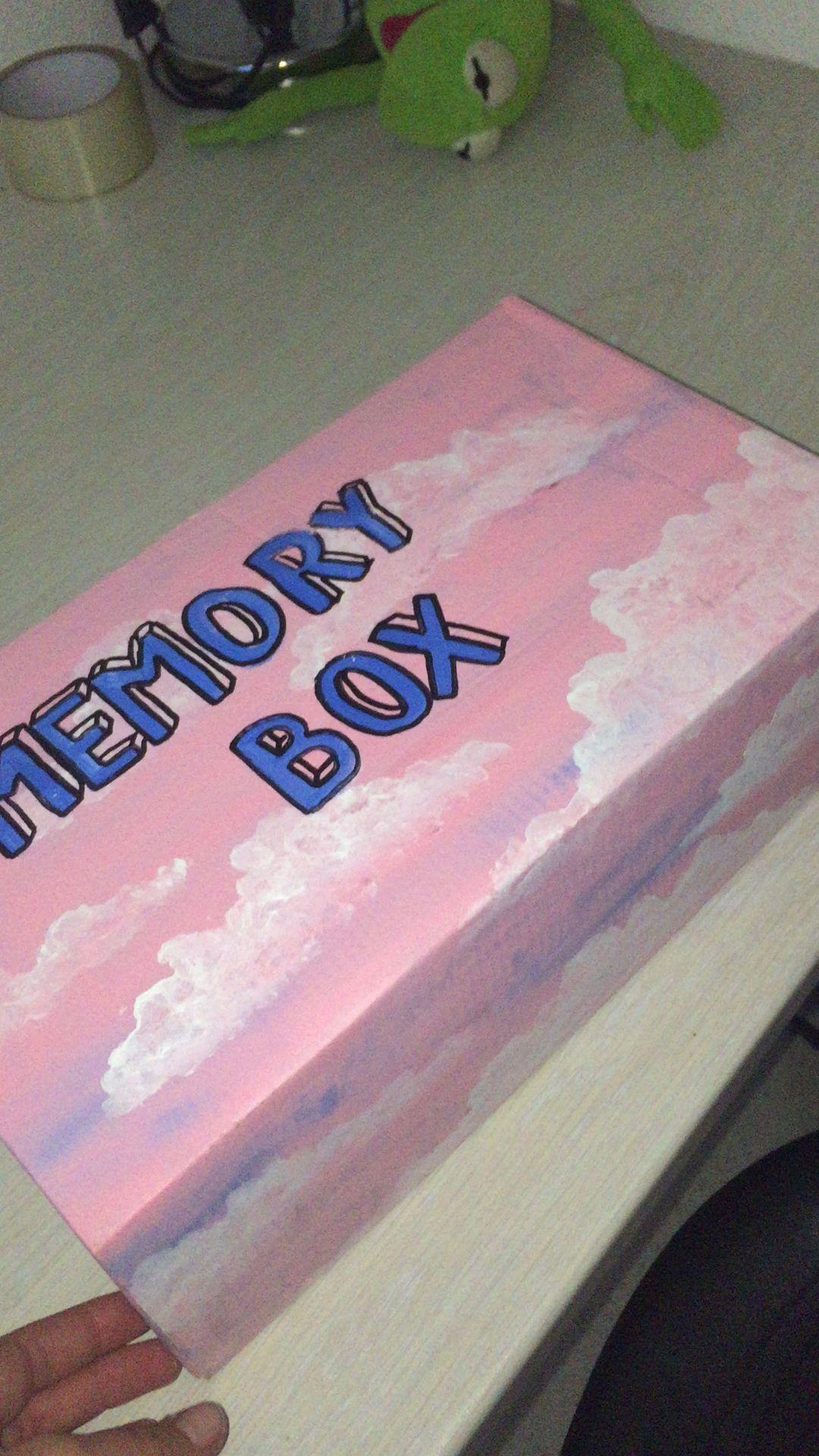 Photo of Memory box Memory box #katzengeburtstag Memory box Memory bo