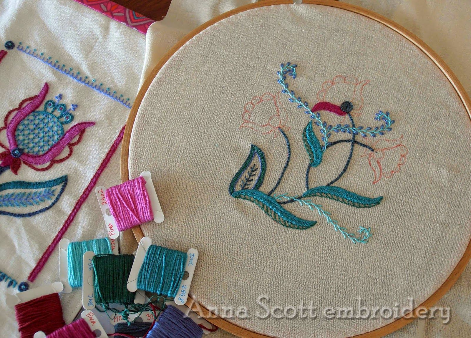 Simple stitches #embroidery