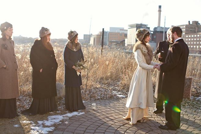Project Runway alum Danielle Everine Married in St. Paul   Minnesota Bride Magazine