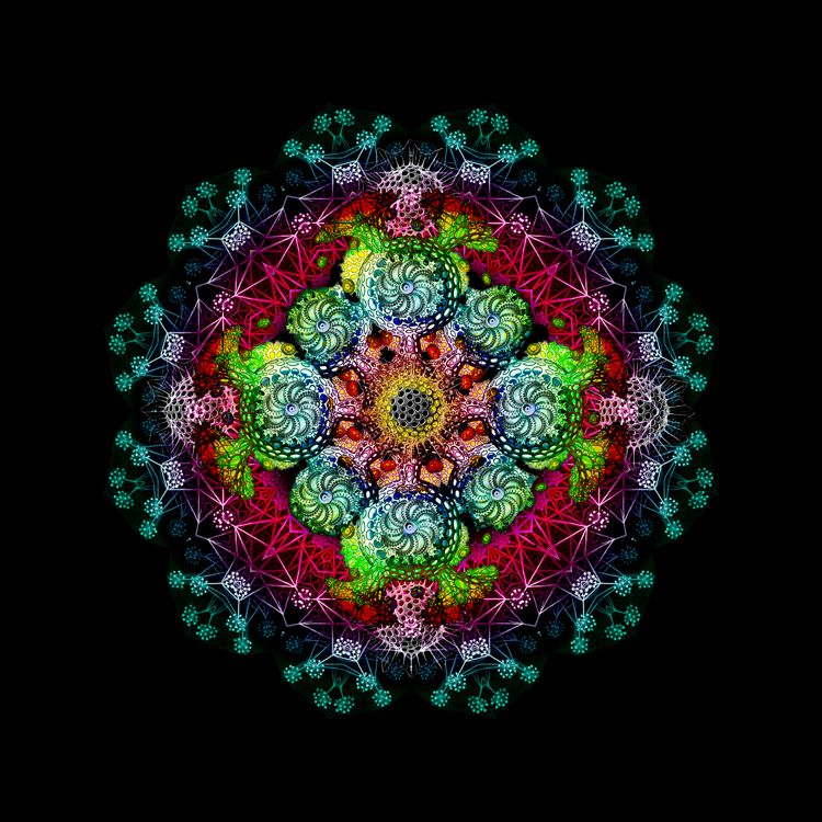 Shanti Mandala v1 by hypomicro on DeviantArt