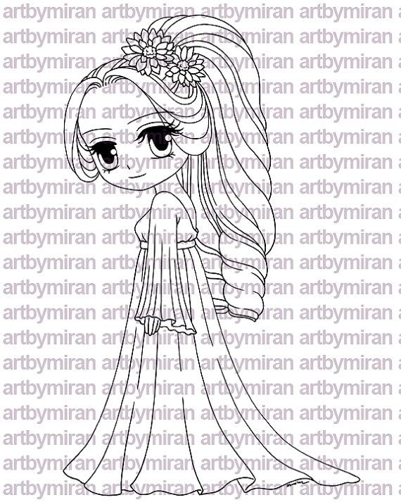 Digital Stamps Digi stamp Coloring pages Digital by JuliaSpiri