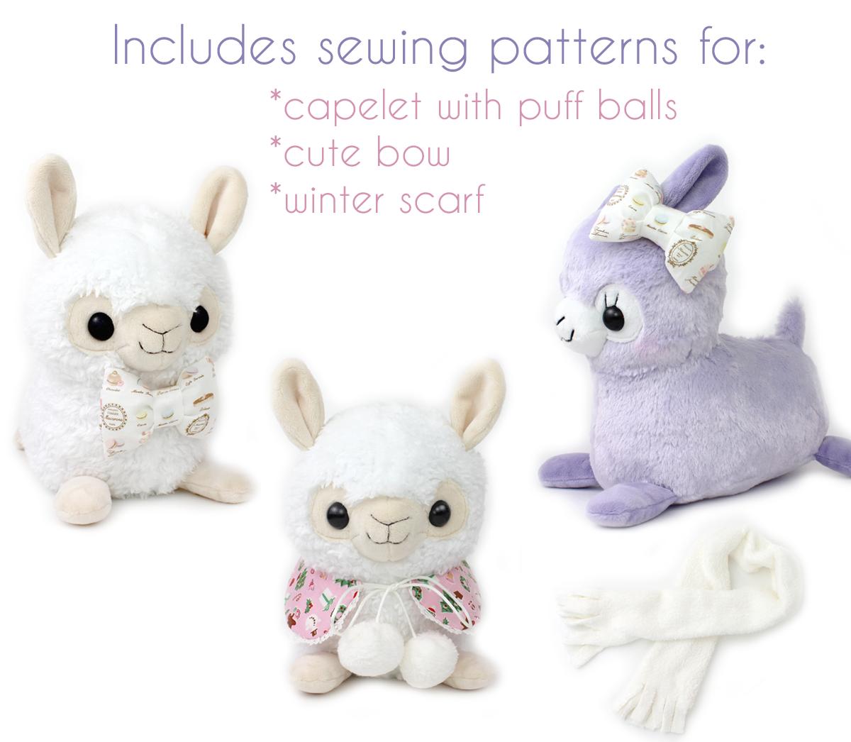 alpaca-sewing-pattern-by-teacuplion-accessories2   Jenna - crafts ...