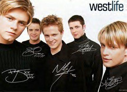Westlife #Brian #Shane #Nicky #Mark #Kian #old #days