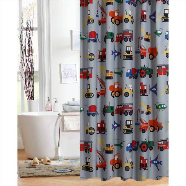 Mother Must Know! 31 Perfect Kids Shower Curtains Ideas | Curtain ...