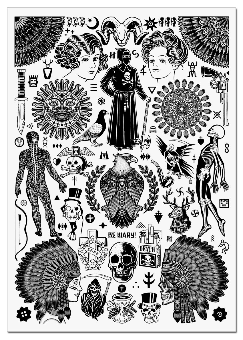 Shown at #DOS  on July 19th, Mike Giant & Tom Gilmour we're asked to pair up and create a common theme for their displayed works.   RITUALS was their choice. This collaborative silk screened print represents all of the elements of both of their original works.   An edition ...