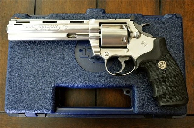 Colt Grizzly.357 Magnum 6-inch