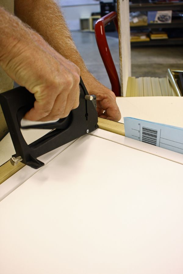 add spacers or shims - how to frame a canvas from Mike. | DIY ...