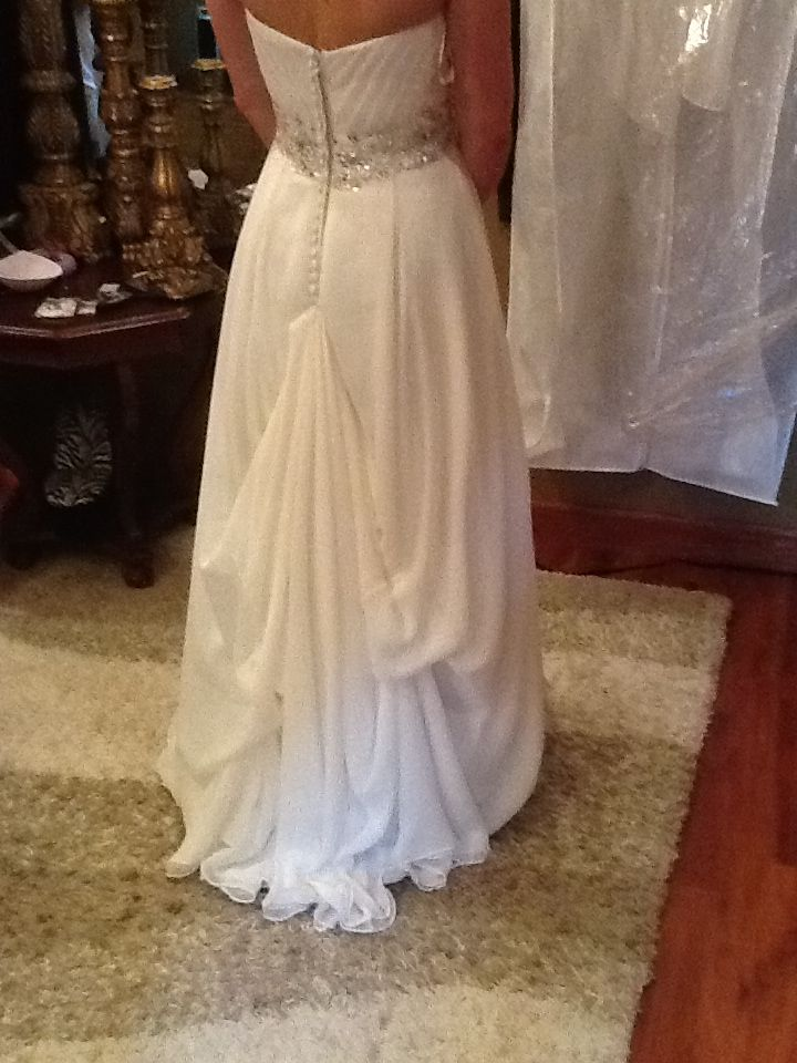 Over Bustle Wedding Dress Bustle Wedding Gown Bustle