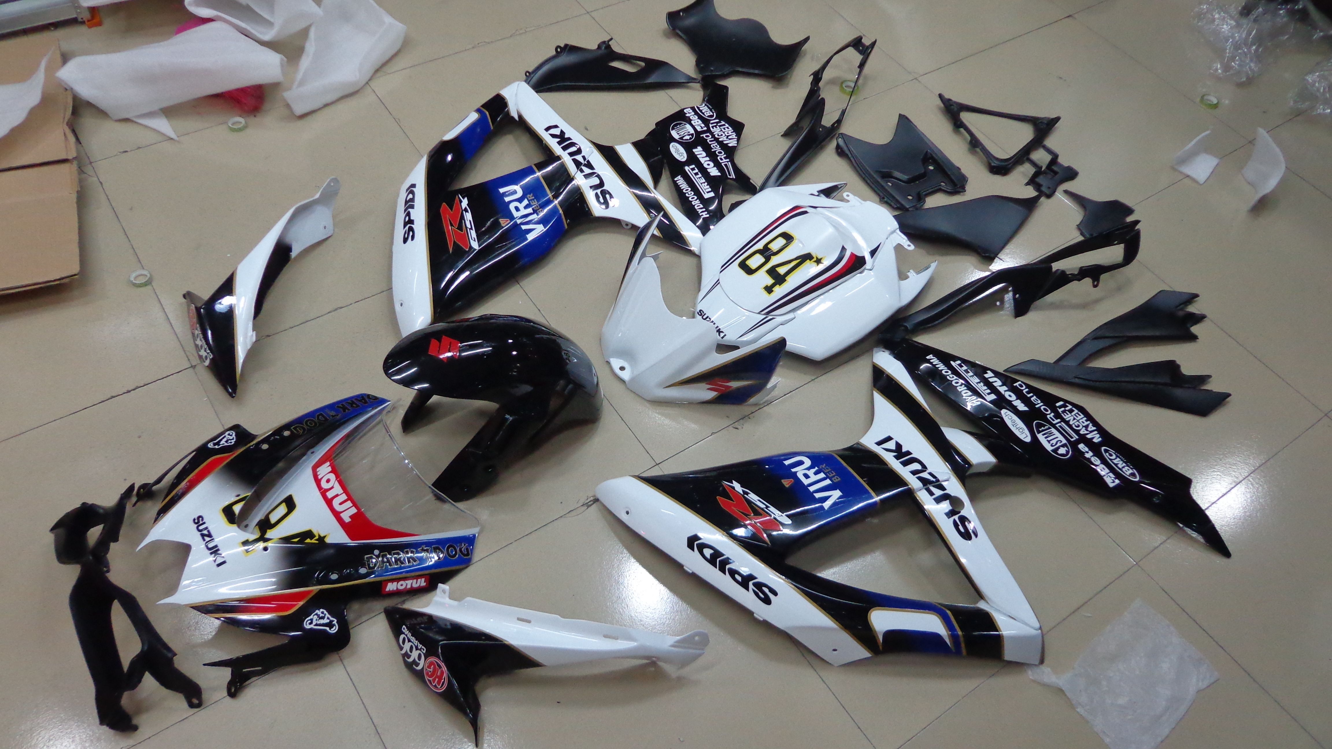 Gsxr 600 750 2008 2010 k8 fairings could get from http