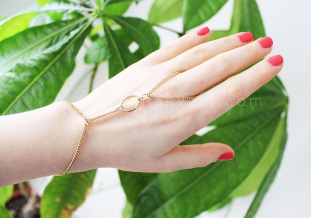 Plan B a n n a · e v e r s DIY Ring bracelet