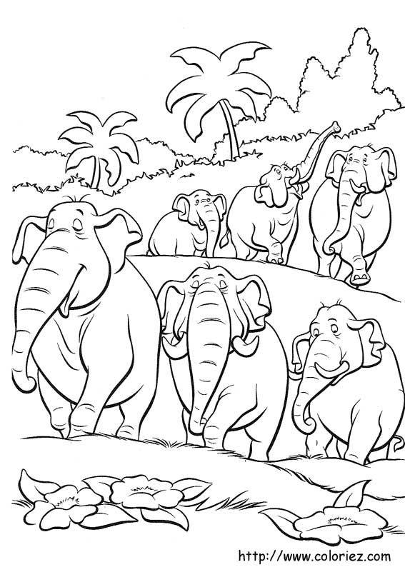 Pin von stanka auf coloring   Dschungelbuch, Malvorlagen tiere