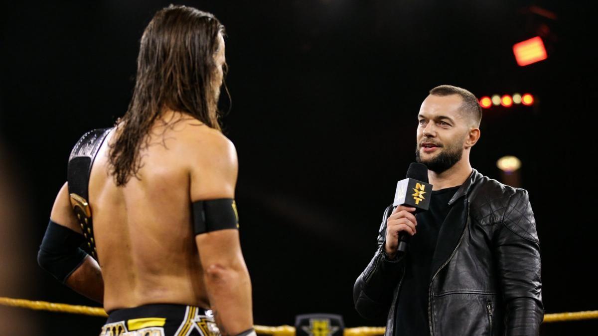 Photos Finn Balor Makes A Surprise Return To Confront Victorious Nxt Champion Adam Cole Finn Balor Wwe News Heavyweight Boxing