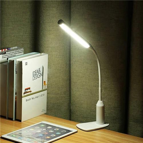 D3 Touch Sensor Led Lamp Bedside Lamp Rechargeable Led Clip Light
