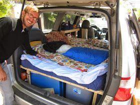 A Simple Toyota Sienna Mini Van To Camper Van Conversion Minivans
