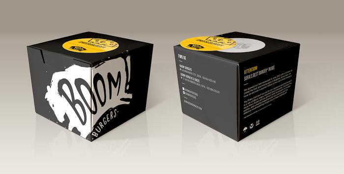 Download Boom Burger Box Desain Kemasan Ide Kemasan Desain Produk