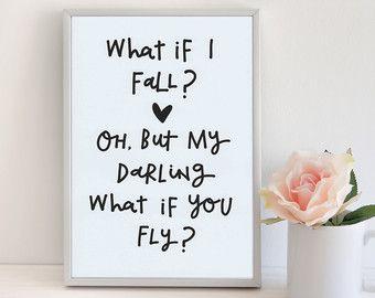 Audrey Hepburn Quote Nursery Wall Art Girls Room By Violetandalfie Wall Art Quotes Diy Quotes Nursery Wall Art Girl