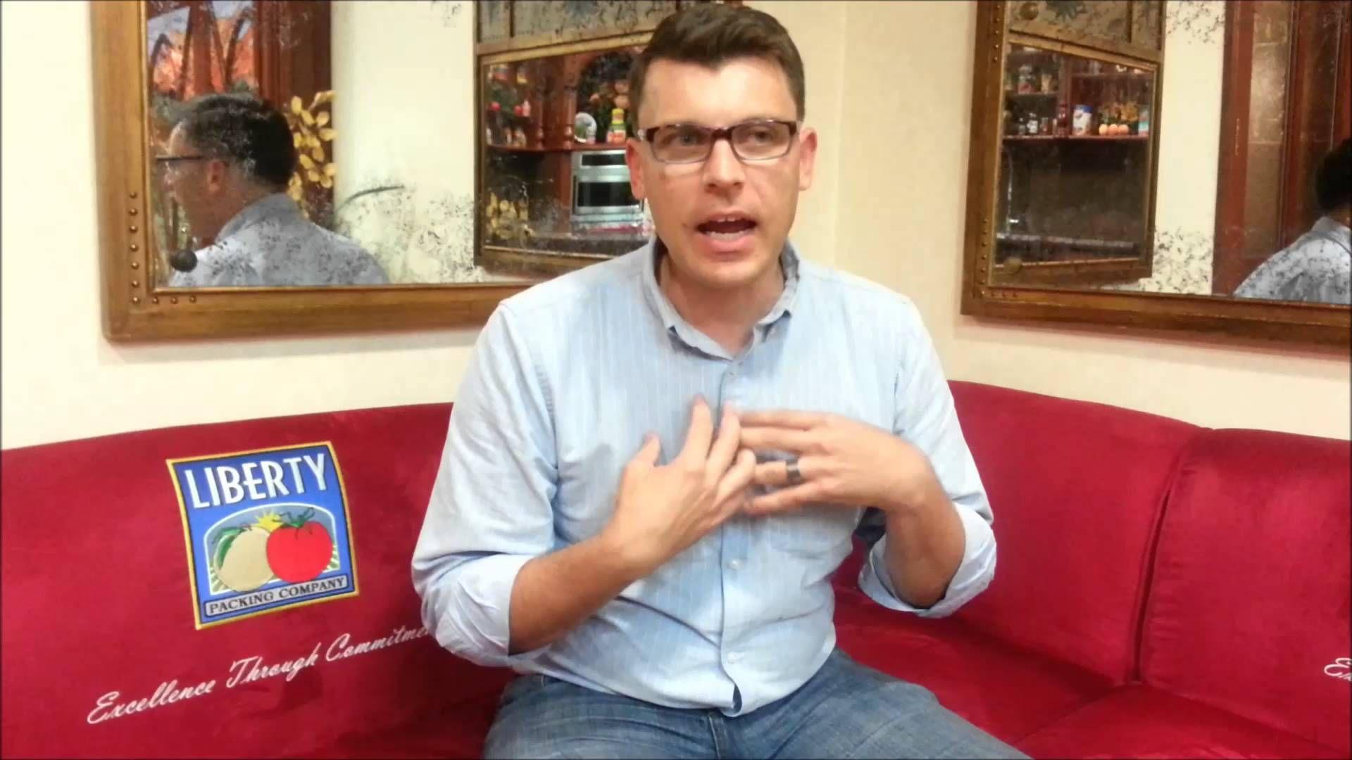 Paul Green jr. van Morning Star is enthousiast over de de manier waarop De Hele Olifant werkt aan Horizontaal Organiseren!