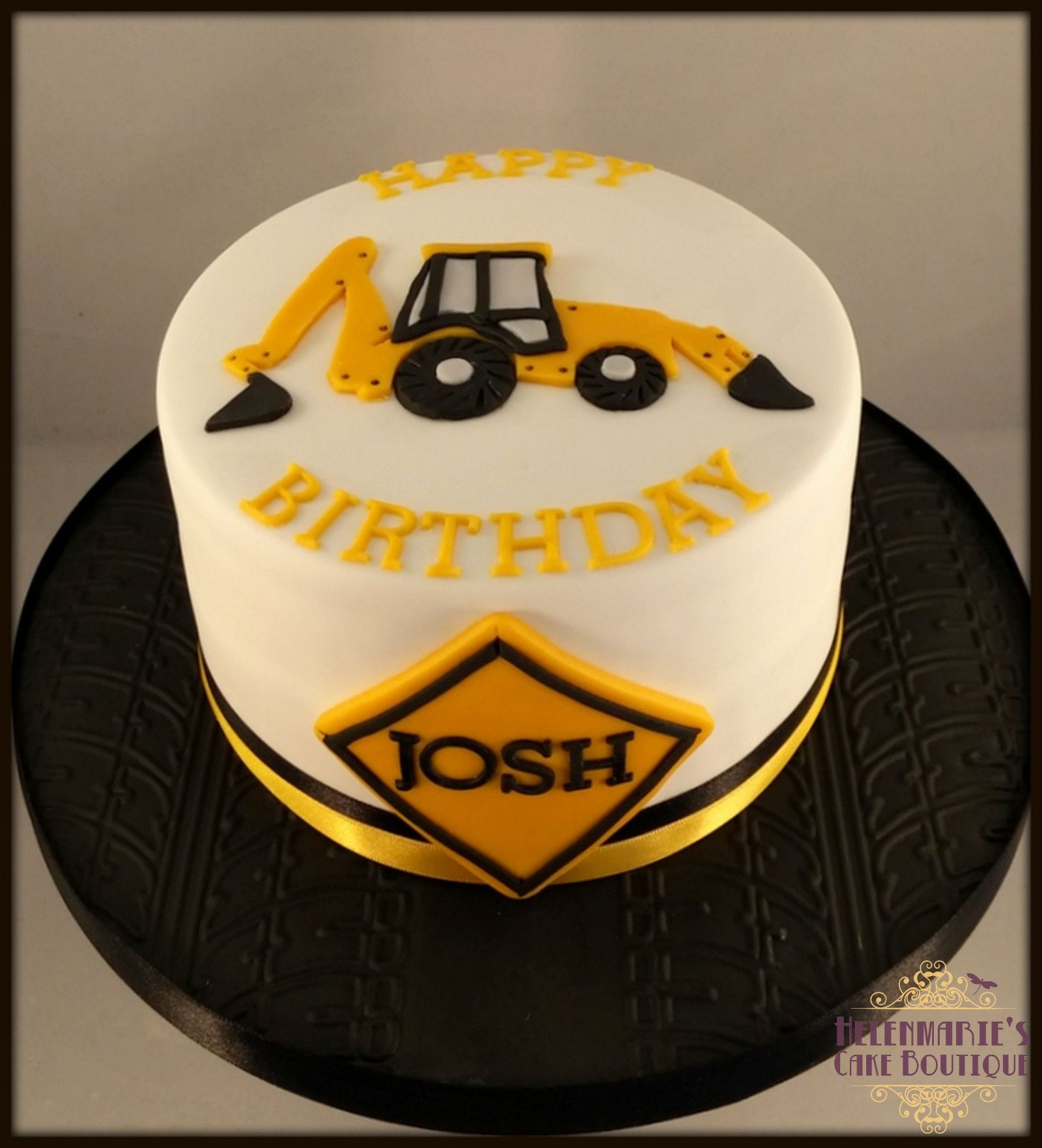 Fondant Torte Geburtstag