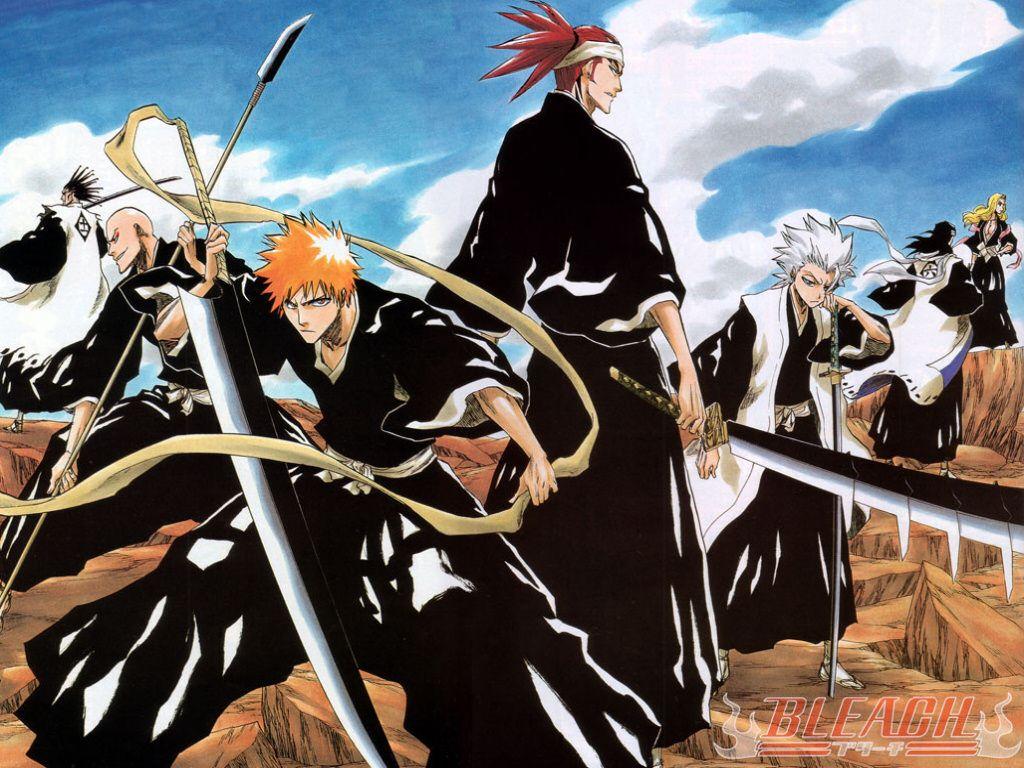 """""""Bleach"""" un excellent manga! Le premier arc était très"""