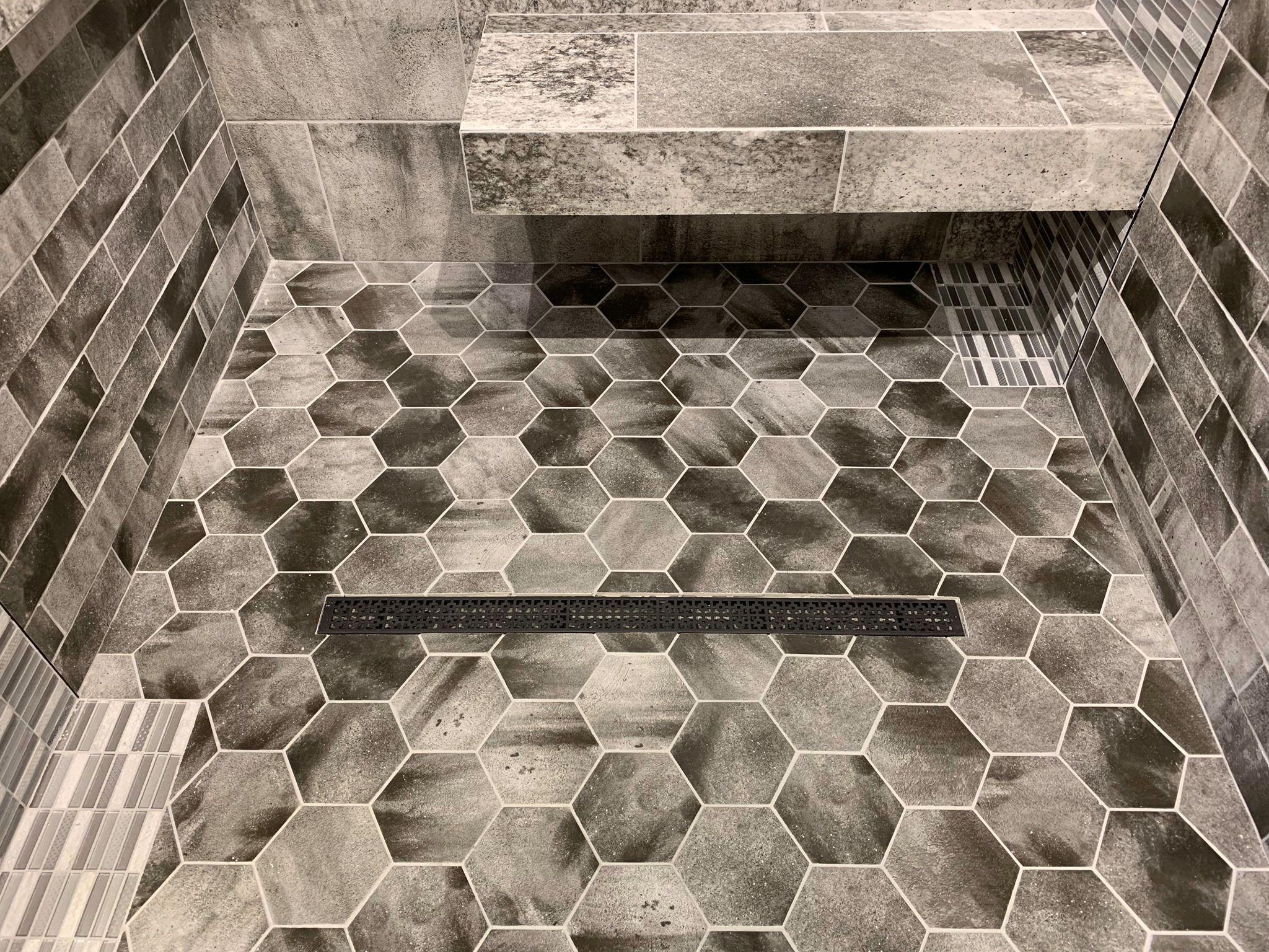 Qualis Valletta Shower Installation // Rustic Modern ...