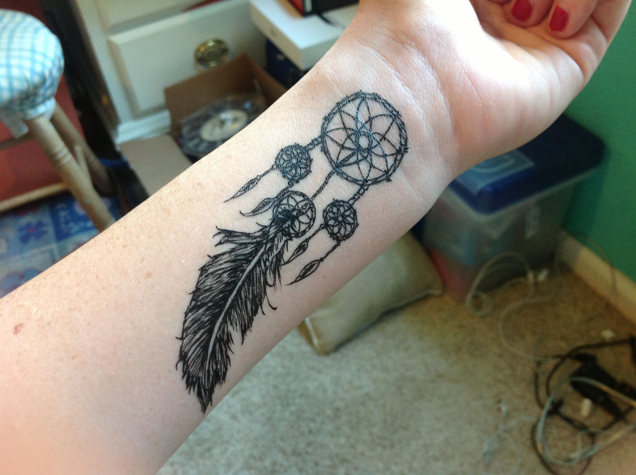 Dream Catcher Tattoo On Wrist 84 Best Tattoos Images On Pinterest  Dream Catcher Tattoo