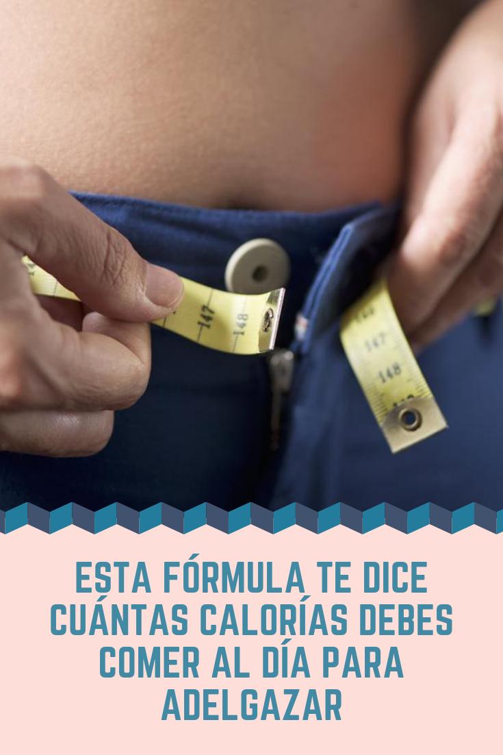 Calculador de calorias a consumir para bajar de peso