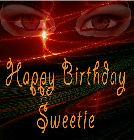 Virtual Birthday Happy Birthday sweetie greeting cards