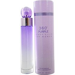 Perry Ellis 360 Purple Eau De Parfum Spray 3.4 oz (con