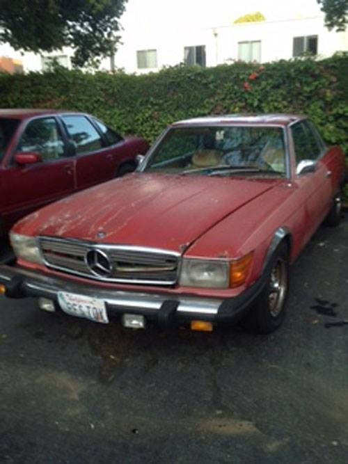 1974 Mercedes Benz 450SLC   Santa Barbara, CA #055718747 Oncedriven