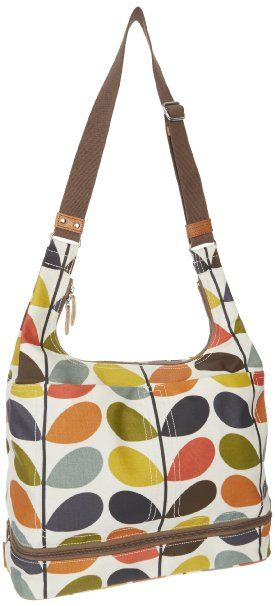 b1253b2b81c Amazon.com  Orla Kiely Matt Laminated Nautical Multi Stem Baby  13SENMS049-9600-00 Diaper Bag