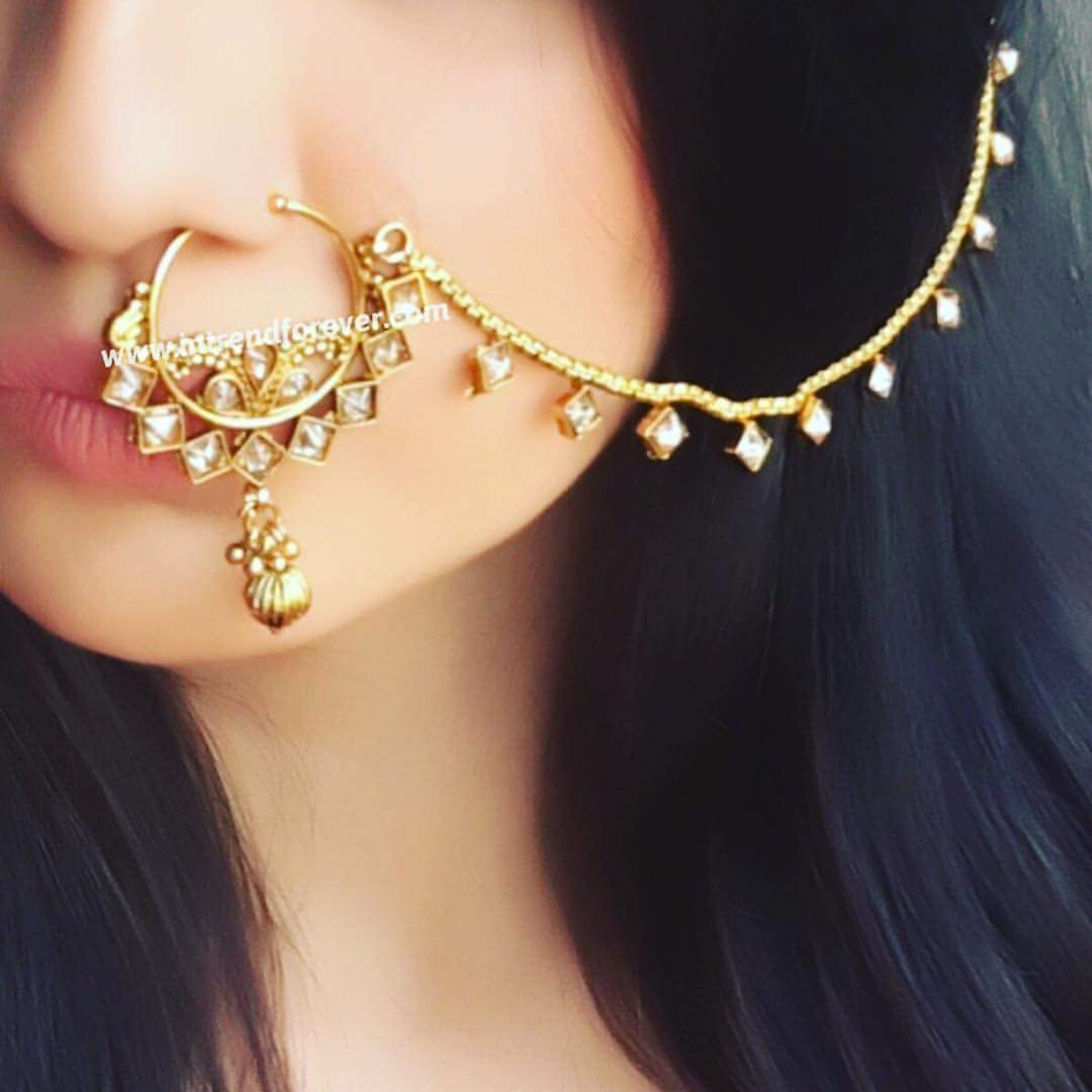 Nose piercing cover up   Pleasing NosePiercing Ideas to PerkUp Your Style Quotient