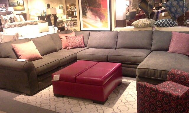 New At Mathis Brothers Lannister 3 Piece Sectional Available In